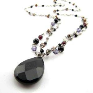 2017 Fashion Handmade Glass Beads Jewelry Necklace