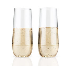 Unbreakable Elegant Plastic Stemless Champagne Flute pictures & photos