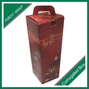Single Glass Bottle Packaging Gift Wine Boxes pictures & photos