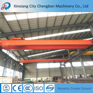 World Leading Level Electric Double Girder Hook Bridge Crane pictures & photos