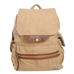 Beige Color School Laptop Bags Fashion Designer Rucksack (RS-2546) pictures & photos