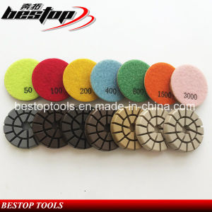 Wet Dry Diamond Floor Polishing Pad for Concrete pictures & photos