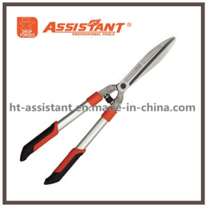 Tension Adjuster Straight Blade Hedge Shears with Aluminum Handles pictures & photos