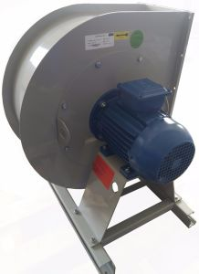 Stand Industrial Backward Steel Cooling Ventilation Exhaust Centrifugal Blower (315mm) pictures & photos