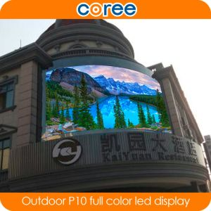 Outdoor High Brightness P10 Full Color LED Display Screen pictures & photos