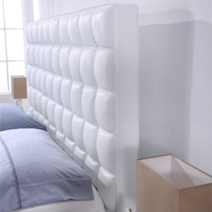 OEM Bedroom Furniture Fashion Design Leather Bed G7011 pictures & photos