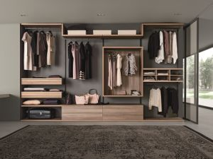 Wooden European Bedroom Wardrobes Walk in Closets pictures & photos