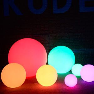 Battery Powered Globe Multicolor Waterproof LED Lighting Ball pictures & photos