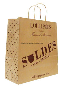 Luxury Recycled Top Quality Retail Kraft Paper Bag pictures & photos