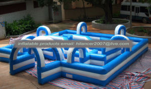 Giant Jungle Inflatable Labyrinth Maze for Sale pictures & photos