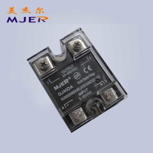 SSR Single Phase Solid-State Relay Module DC/AC (GJ 40DA) Solid State Relay pictures & photos