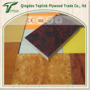 18mm Melamine Coated MDF Board/ Raw MDF Panel / Plain MDF E0 E1 E2 Grade pictures & photos