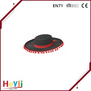 OEM High Quality Black Floppy Hat for Man pictures & photos