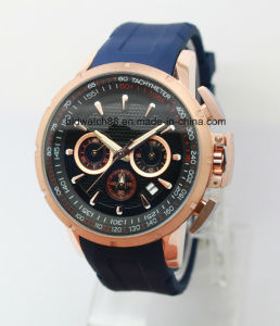 Custom Man Luxury Sport Wrist Watch with Swiss Movement pictures & photos