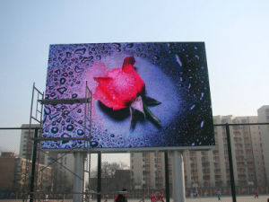 Outdoor Full Color Video LED Display Screen P10 Outdoor LED Die Casting Aluminum pictures & photos