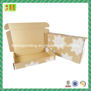 Brown E Flute Corrugated Paper Box for Shipping/Mailing pictures & photos