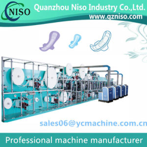 Sanitary Napkin Making Machine for Always Ultra Thin Sanitary Pad pictures & photos