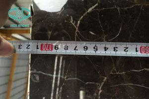 Stock Cheap Top Quality St. Laurent/Emperador/Cindy Grey/Nero Marquina Marble Slabs pictures & photos