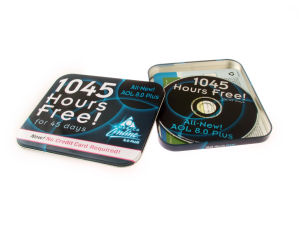 Rectangular Metal DVD CD Case pictures & photos