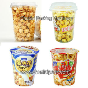 Corn Flakes Cup Filling and Sealing Machine pictures & photos