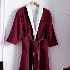 Double Face Cotton Bathrobe & Pajamas for Hotel (DPF10141) pictures & photos