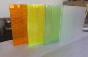 Clear PC Honeycomb Sandwich Panel Decoration Panel pictures & photos