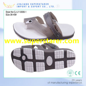 New Material Low MOQ Quick Production Flip Flop Men Clog Sandal pictures & photos