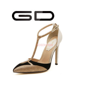Comfortable Bling Matched Sexy Sandals Women Hot Sale High Heel Shoes pictures & photos