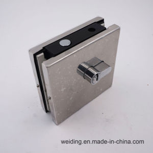 Stainless Steel Glass Door Patch Fitting Lock Clamp pictures & photos