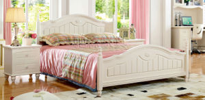 Home Furniture Solid Wood Kids Bed for Children Bedroom Furniture (A101) pictures & photos