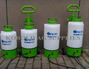 12L Knapsack Rechargeable Trolley Battery Operated Sprayer with Wheels pictures & photos