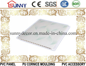 Hot Stamping Transfer Printing PVC Ceiling Panel/PVC Wall Panel/PVC Board pictures & photos