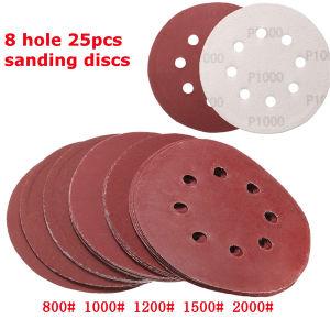 Delta Sander Pads 140mm 5 Hole P240 pictures & photos