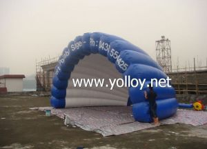 Portable Inflatable Shell Dome Tent pictures & photos