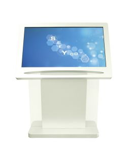 Touch Screen-Large Format Kiosk-Wayfinder-Interactive LCD Totem pictures & photos