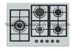 2016 Hot Selling High Quality Gas Cooktop Gas Hob Jzs65006 pictures & photos