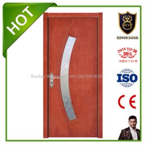 Wood Composited Doors with Glass for Washroom pictures & photos