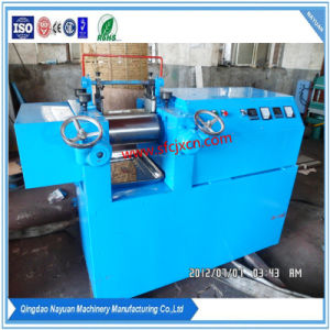 2017 Lab Open Rubber Roll Mill/Laboratory Two Roll Mixing Machine pictures & photos