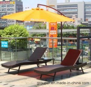 2017 Hot Sale PE Rattan Sunbed pictures & photos