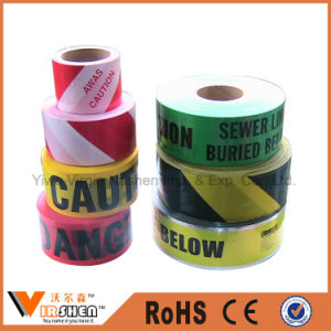Traffic Road and Policeman Work Use PE Barrier Warning Tape pictures & photos