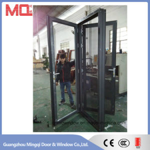 High Quality Aluminum Swing Door with Stainless Mosquito Net pictures & photos