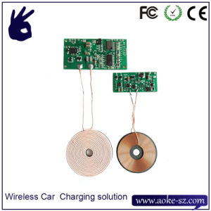 12V 800mA Car Wireless Charger Solution From China Supplier pictures & photos