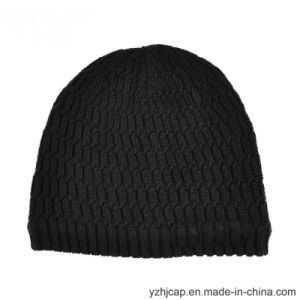 Winter Hat Acrylic Jacquard Beanie Hat Custom Knit Hat POM POM Knitted Hat Beanie pictures & photos