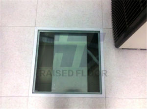 Tempered Glass Raised Flooring for Monitor and Decoration pictures & photos