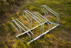 Standard Steel Bike Floor Parking Rack pictures & photos