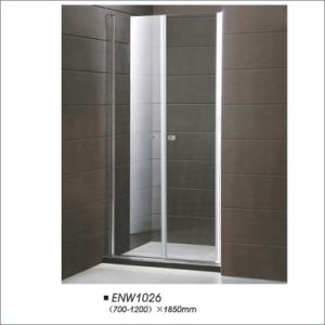 Tempered Glass Pivot Shower Screen Manufacturer pictures & photos