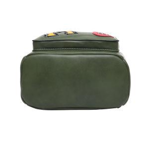 Designer Backpack with Rivet Letter Rose Pattern Backpack (HM16C1209) pictures & photos