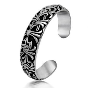 Gothic Men Bracelets Titanium Steel Fashion Jewelry Cuff Bangles pictures & photos