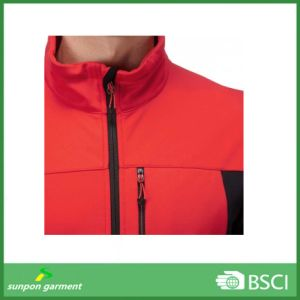 Private Logo OEM Service Outdoor Mens Winter Softshell Jacket pictures & photos