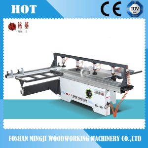 Woodworking Sliding Table Saw Machine with Pressing Equipment pictures & photos